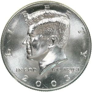 2003 Half Dollar