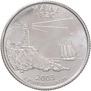 2003 Maine Quarter