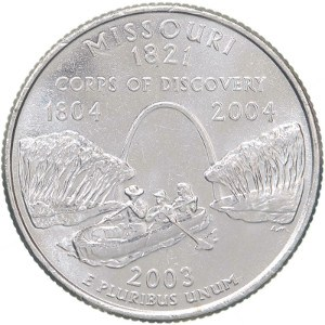 2003 Missouri Quarter