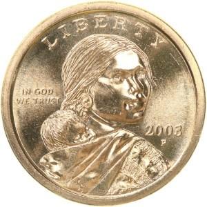 2003 Sacagawea Dollar Coin