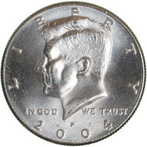 2004 Half Dollar