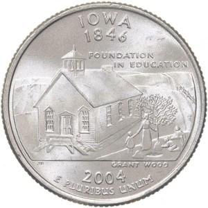 2004 Iowa Quarter