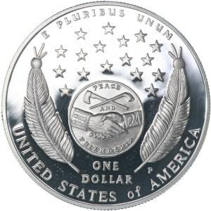 2004 Lewis and Clark Bicentennial Silver Dollar Reverse