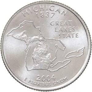 2004 Michigan Quarter