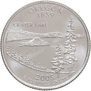 2005 Oregon Quarter
