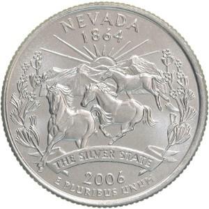 2006 Nevada Quarter