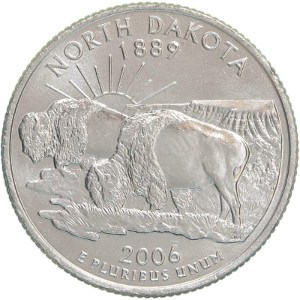 2006 North Dakota Quarter