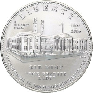 2006 San Francisco Old Mint Silver Dollar