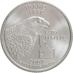 2007 Idaho Quarter