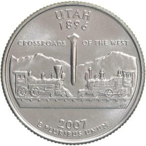 2007 Utah Quarter