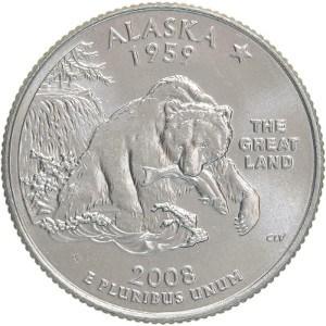 2008 Alaska Quarter