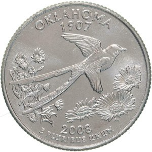 2008 Oklahoma Quarter