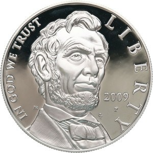 2009 Abraham Lincoln Silver Dollar