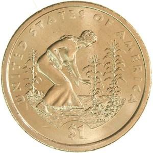 2009 Sacagawea Dollar Coin Reverse