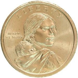 2009 Sacagawea Dollar Coin