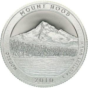 2010 Mount Hood Quarter