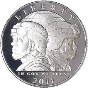 2011 Army Silver Dollar