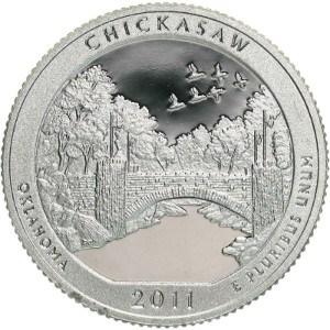 2011 Chickasaw Quarter