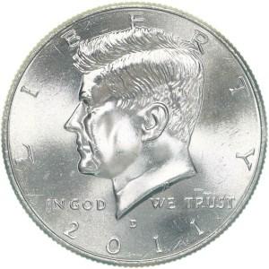 2011 Half Dollar