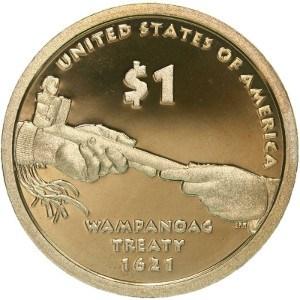 2011 Sacagawea Dollar Coin Reverse