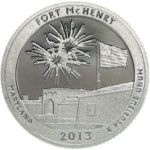 2013 Fort McHenry Quarter
