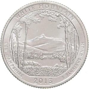 2013 White Mountain Quarter