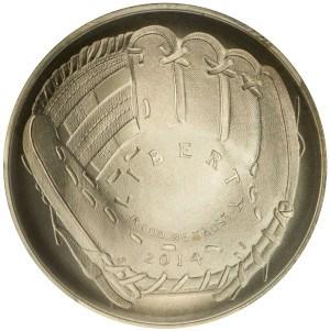 2014 National Baseball Hall of Fame Silver Dollar