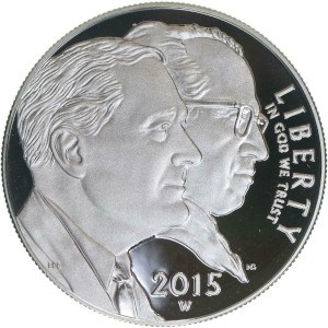 2015 March of Dimes Silver Dollar