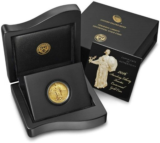 2016 W Standing Liberty Quarter Box