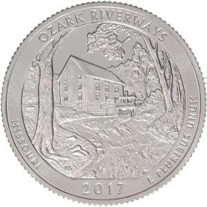 2017 Ozark Riverways Quarter