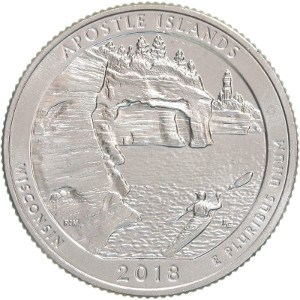 2018 Apostle Islands Quarter