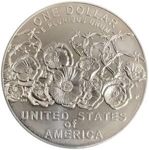 2018 World War I Centennial Silver Dollar Reverse