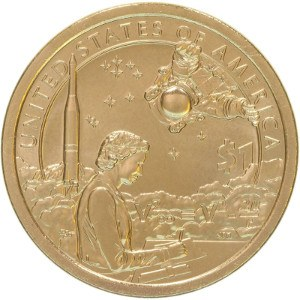 2019 Sacagawea Dollar Coin Reverse