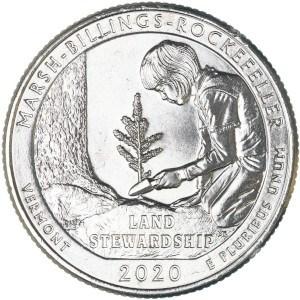 2020 Marsh-Billings-Rockefeller Quarter