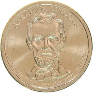 Abraham Lincoln Dollar Coin