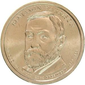 Benjamin Harrison Dollar Coin