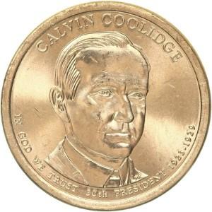 Calvin Coolidge Dollar Coin