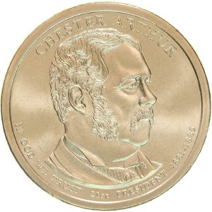 Chester Arthur Dollar Coin