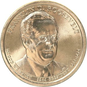 Franklin D. Roosevelt Dollar Coin