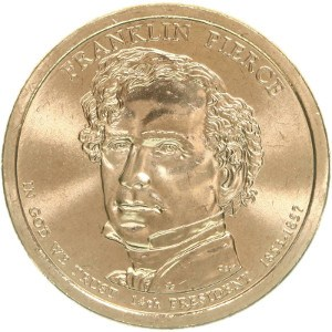 Franklin Pierce Dollar Coin