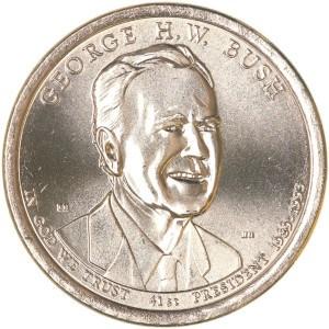 George H. W. Bush Dollar Coin