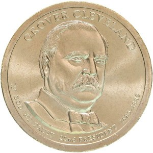 Grover Cleveland Dollar Coin Variety 1