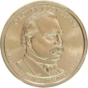 Grover Cleveland Dollar Coin Variety 2
