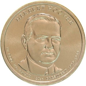 Herbert Hoover Dollar Coin