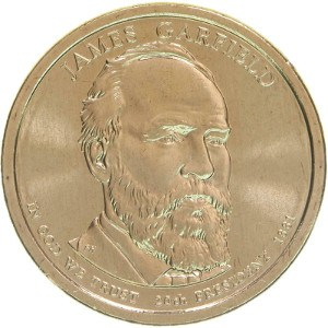 James Garfield Dollar Coin