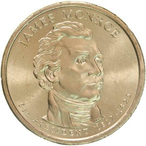 James Monroe Dollar Coin
