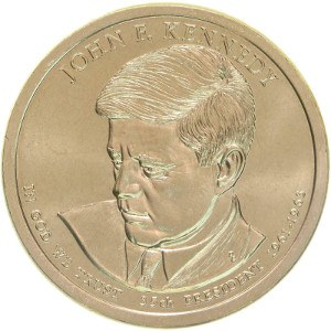 John F. Kennedy Dollar Coin