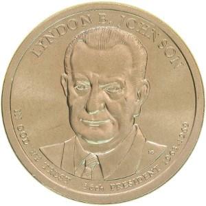 Lyndon B. Johnson Dollar Coin