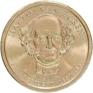 Martin Van Buren Dollar Coin