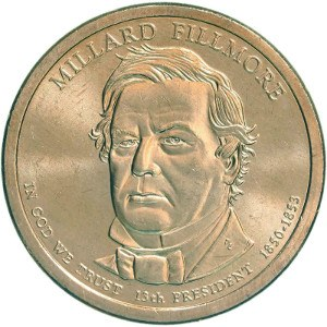 Millard Fillmore Dollar Coin
